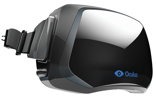 This is a concept of the Oculus Rift consumer version.