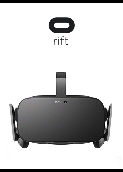 Facebook Rift VR Headset with Logo