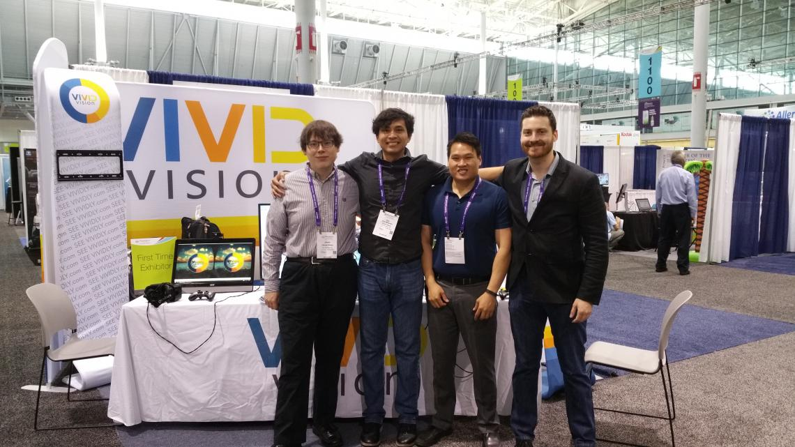 Team Vivid Vision at AOA 2016