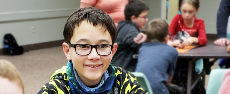 At age 3, Maxwell was diagnosed with Amblyopia, the medical term for lazy eye. Despite glasses and then atropine drops, Maxwell continued to experience difficulty in school and was falling behind.