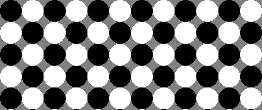Here at Vivid Vision we spend a lot of time thinking about optical illusions. By looking at how the visual system breaks down we can learn about how the visual system works. Often some of the most promising new techniques we use for helping people with lazy eye are utilizing optical illusions to trick the brain.