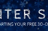 Winter Sale - promotions banner
